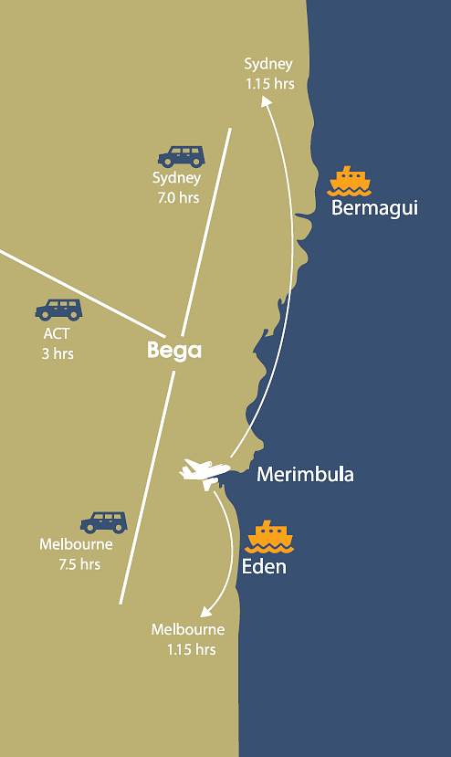 Merimbula Airport Location