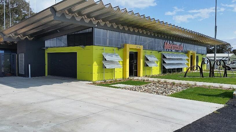Merimbula Airport Upgrade Terminal Front Fascade