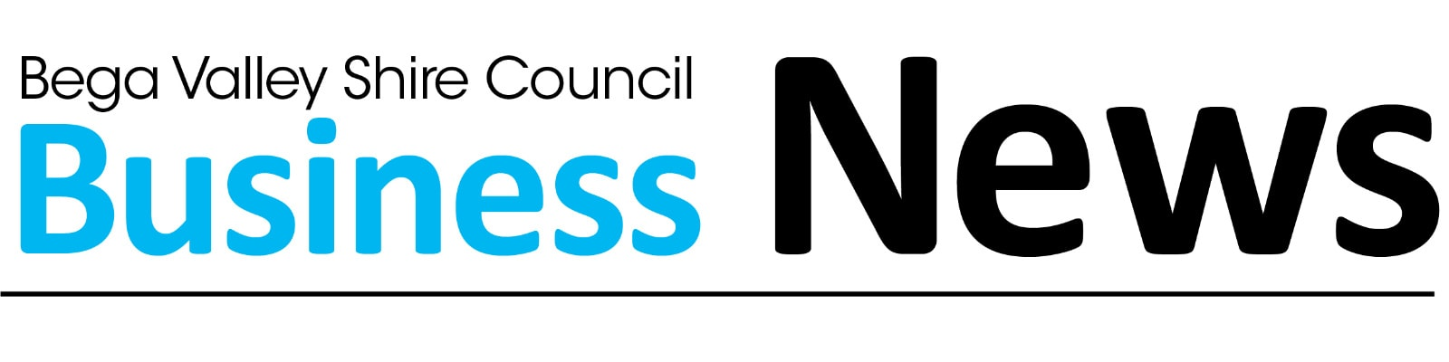 Words, Bega Valley Shire Council Business News.