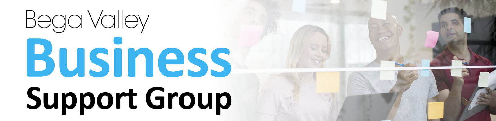 Text: Bega Valley Business Support Group.