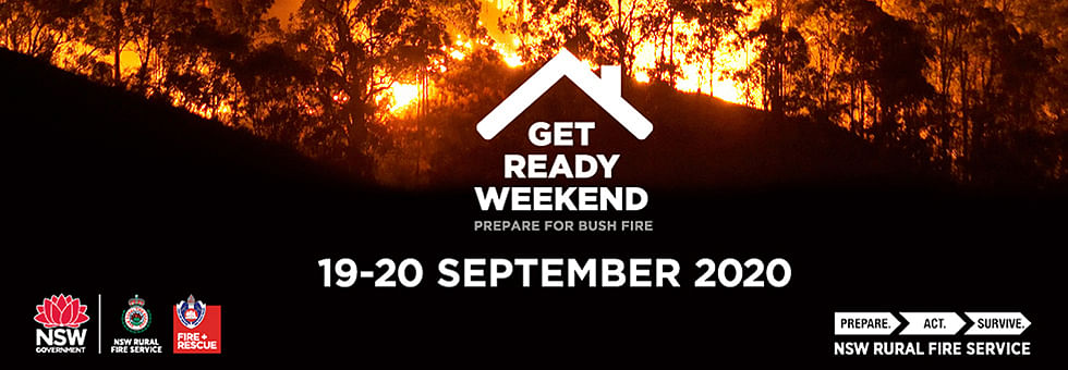 Get Ready Weekend 19 to 20 September 2020.