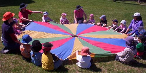 Image of children playing.