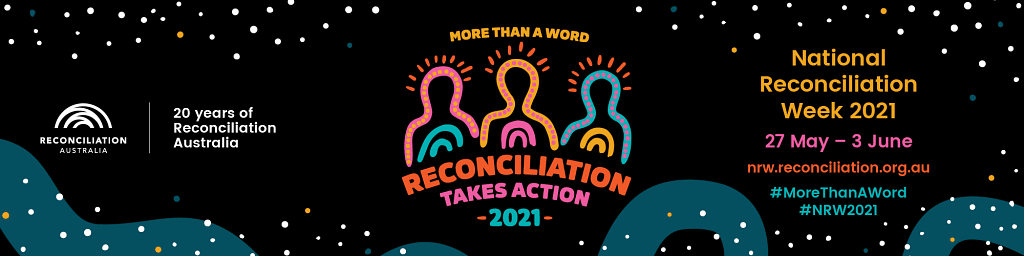 National Reconciliation Week banner.