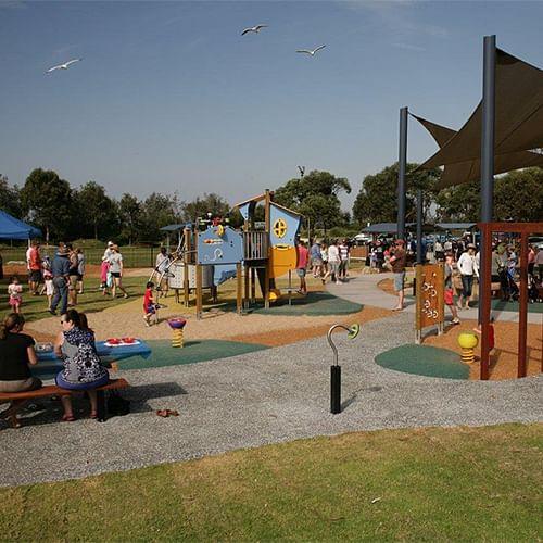 Ford Park, Merimbula an all inclusive playground.