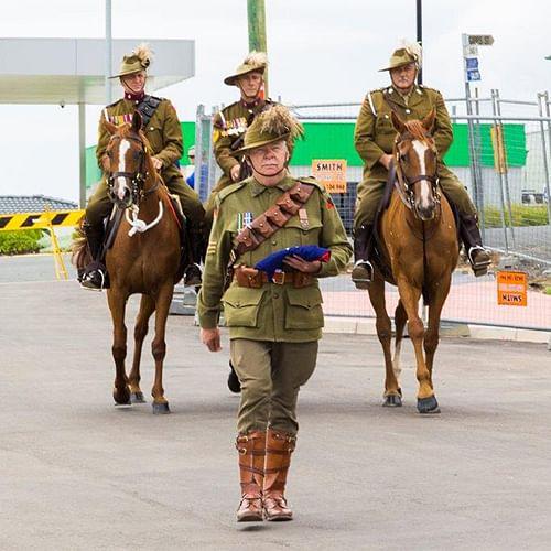 Light horse brigade.