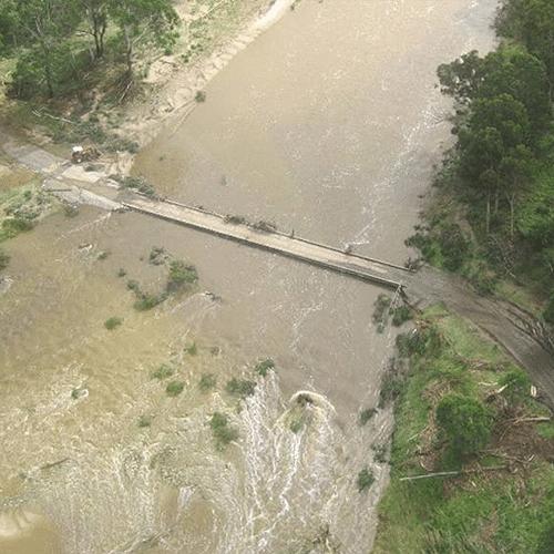 Burrage Bridge on the Towamba River.