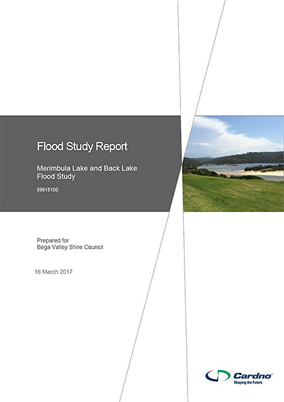 Merimbula Lake and Back Lake Flood Study