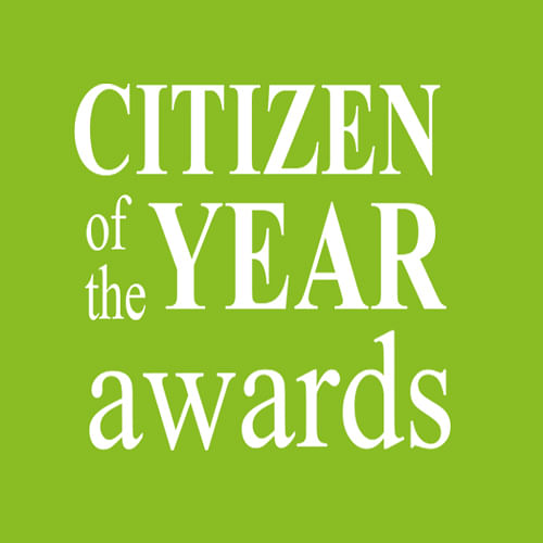 Citizen of the year awards.