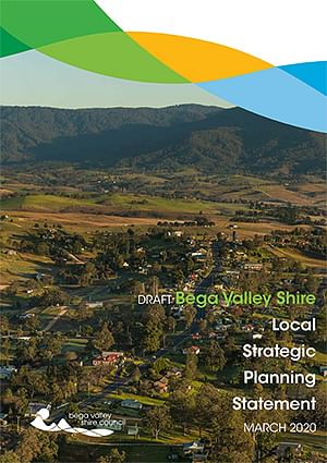 Cover of the draft Local Strategic Planning Statement.