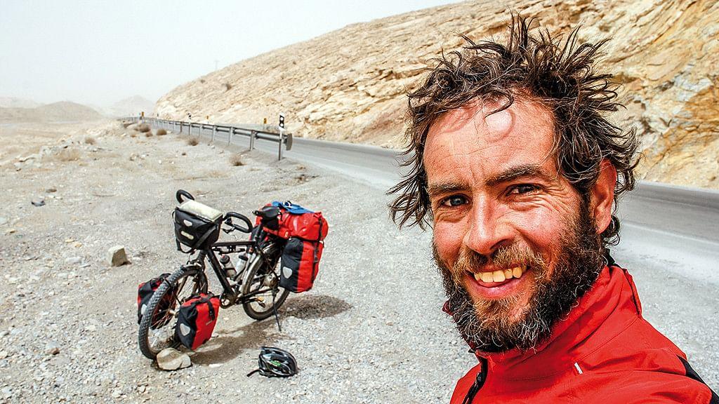 Adventurer Jeremy Scott.