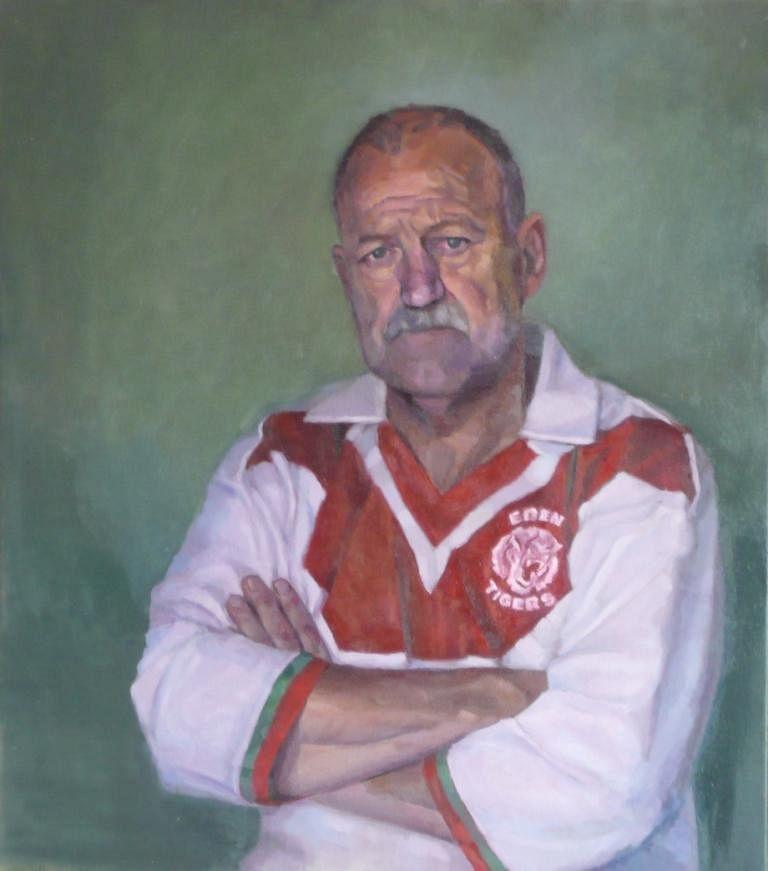 Shirley Hanna National Portrait award finalist, Joseph O'Gara (Eden) Weary warrior.