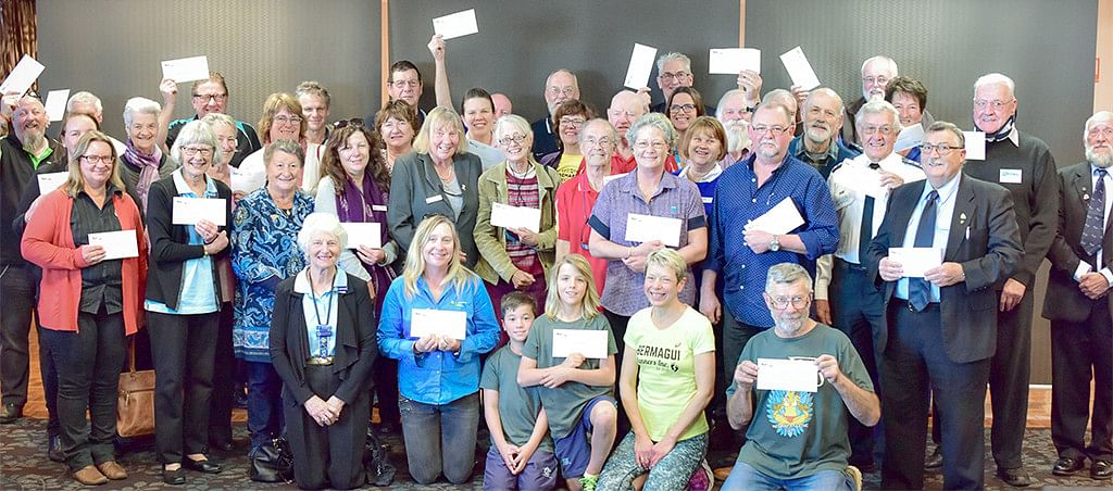 Bega Valley community groups shared in over $90,000 of ClubGRANTS funding in 2017.