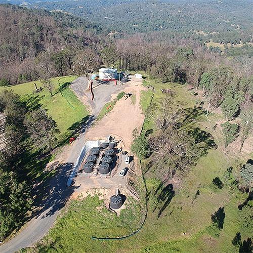 Brogo water treatment facility.