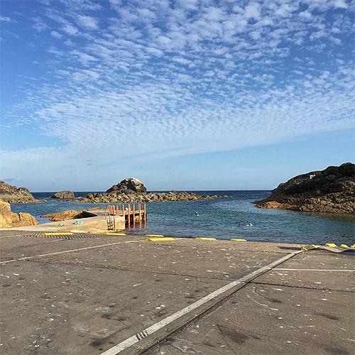 Tathra, Kianinn Bay boat ramp.