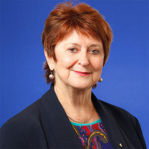 Image of the Hon Susan Ryan AO, former Age and Disability Discrimination Commissioner for the Australian Human Rights Commission.