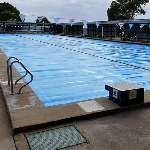 New pool covers have been installed at Eden Swimming Pool.