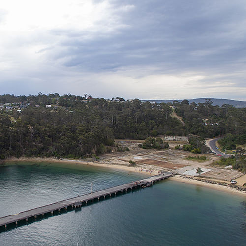 Cattle Bay Cannery Wharf.