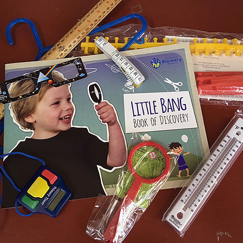 Each child will be loaned a Discovery Box for the duration of the club.