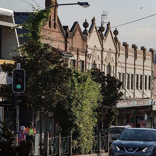 Bega's main street, Carp Street.