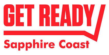Get Ready Sapphire Coast emergency preparedness logo