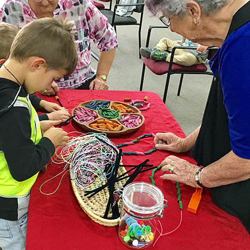 Intergenerational experiences provide enormous benefits for people of all ages.