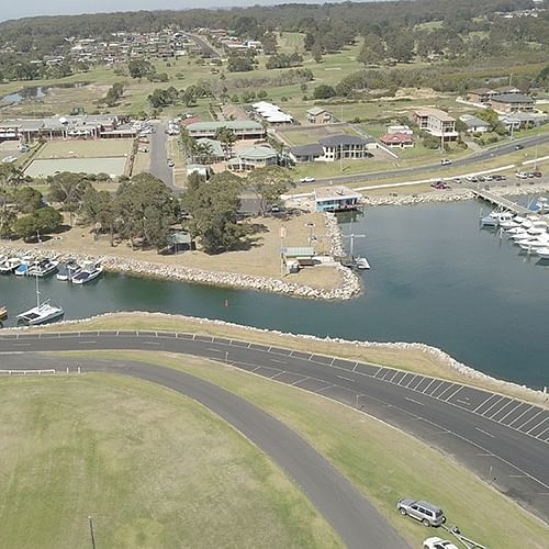 A section of Lamont Street in Bermagui will be the focus of a number of projects over the next two months.