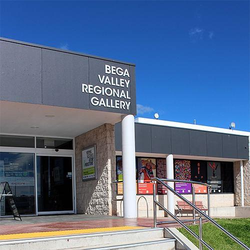 Bega Valley Regional Gallery.
