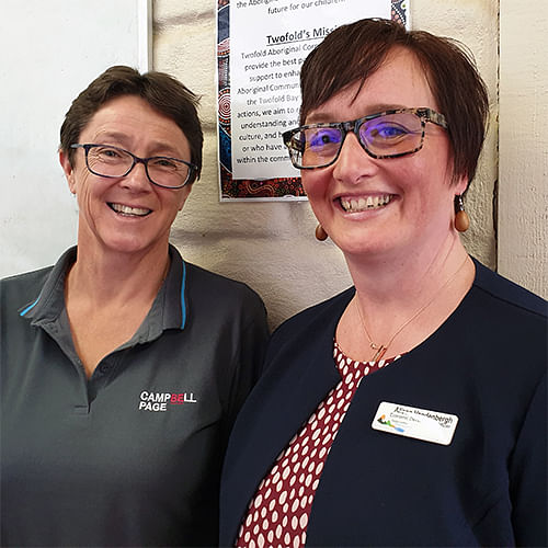 Campbell Page's Head of Community Services, Anne Hodge, and Council's Economic Development Officer, Alison Vandenbergh, are excited about the upcoming 'Jobs & Skills Bega Valley' project