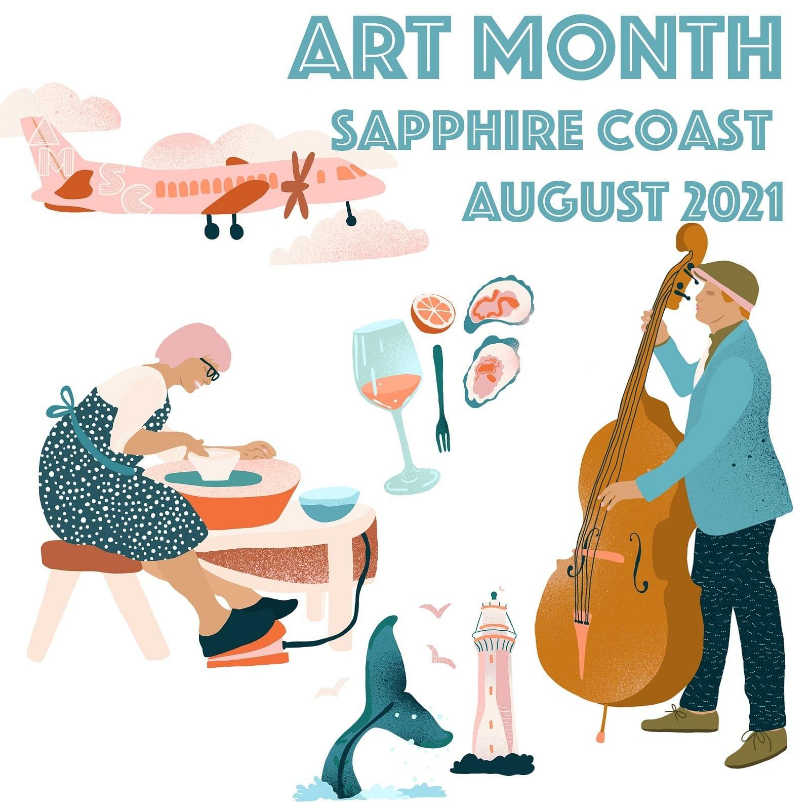 Art Month poster.