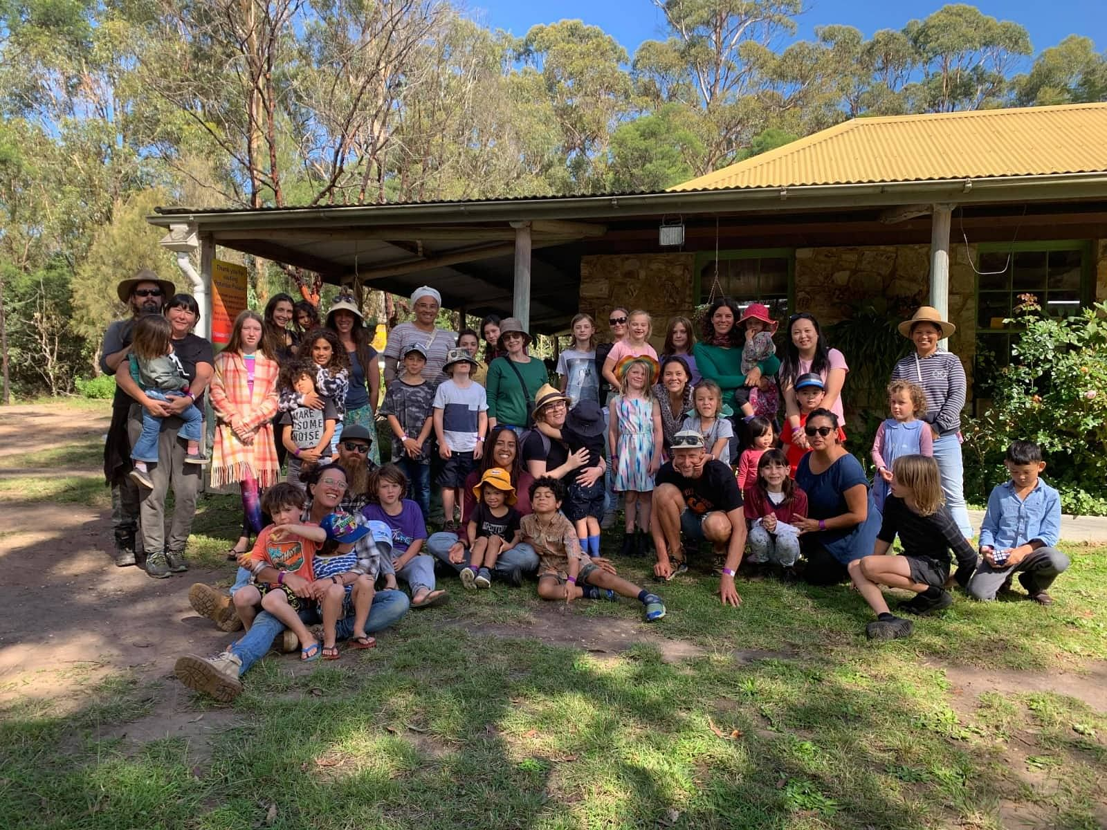 Bega Multicultural Centre members held a Family Fun Day at Potaroo Palace.