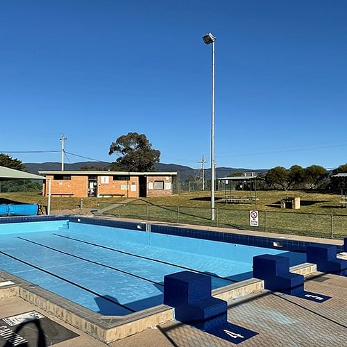 Outdoor pools ready to open