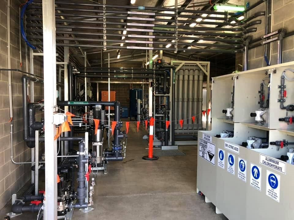 The Bemboka water treatment and filtration plant opened in 2019.