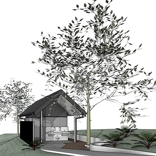 The concept designs are complete for a new public amenities building in Cobargo.