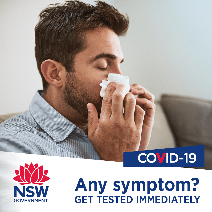 Get tested if you have covid symptoms.