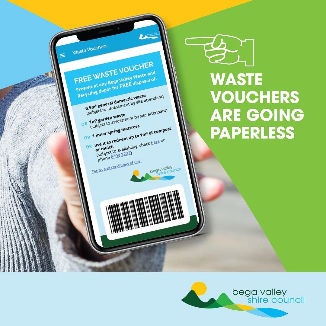 Waste voucher app.