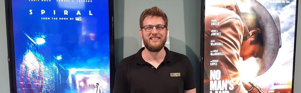 Jesse Tankard of The Picture Show Man in Merimbula.