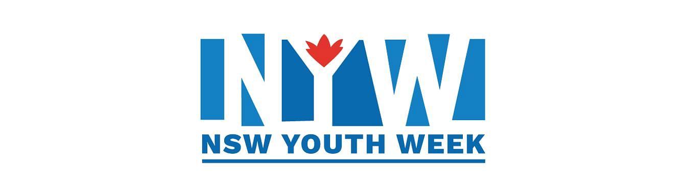 National Youth Week logo.