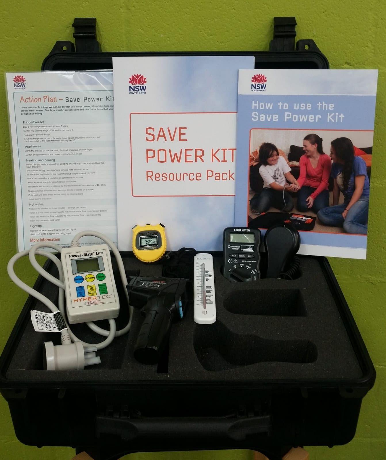 Save power kit.