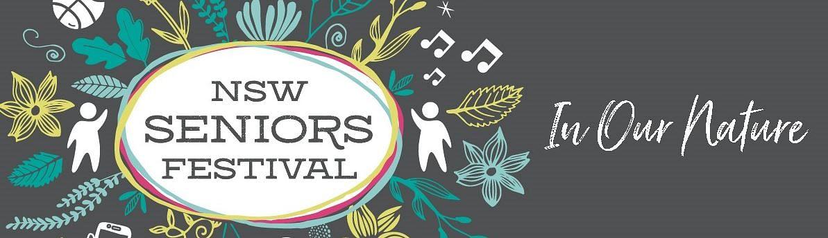 NSW Seniors Week logo.