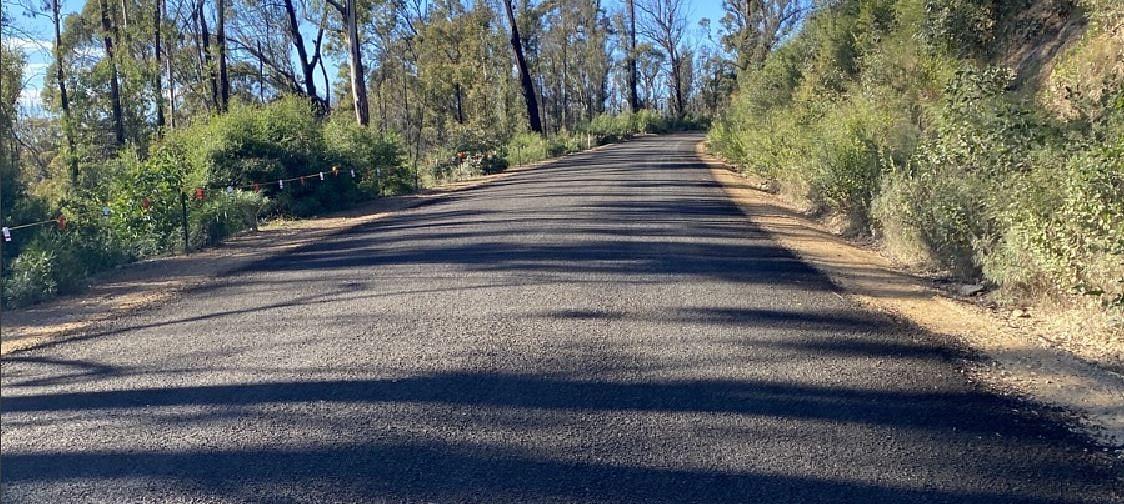 Towamba Road.