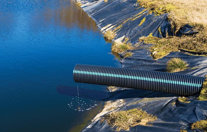Leachate pond