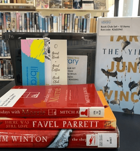Book Club Sets for loan from library