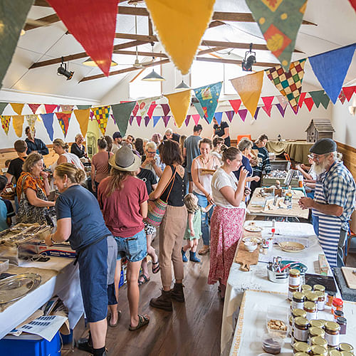 Small business activity at the Nethercote markets earlier this year. Photograph courtesy of David Rogers Images.