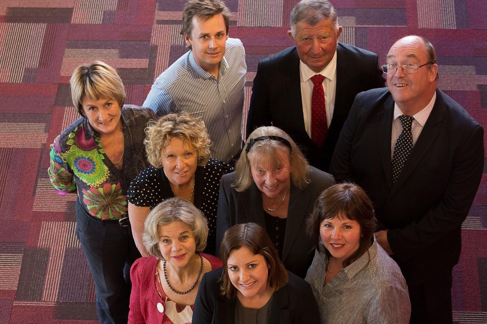 Bega Valley Shire Council Councillors.
