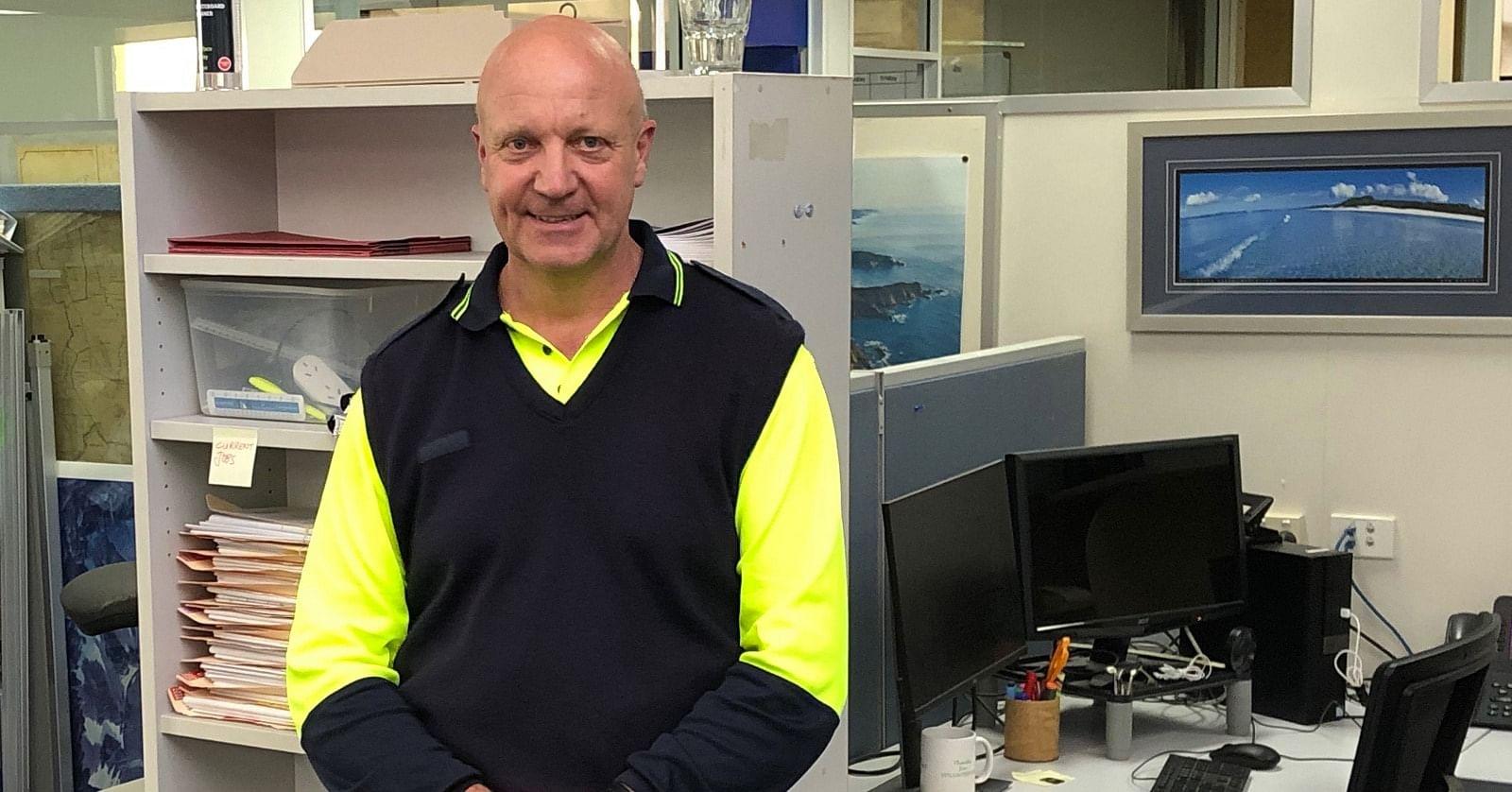 Garry Cooper, Bega Valley Shire Council Environmental Health and Building Surveyor.