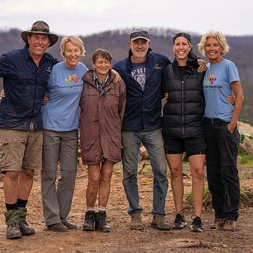 Big thanks to Connecting Communities Australia for two weeks of hard yakka