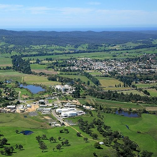 A view across the Bega Valley to the east