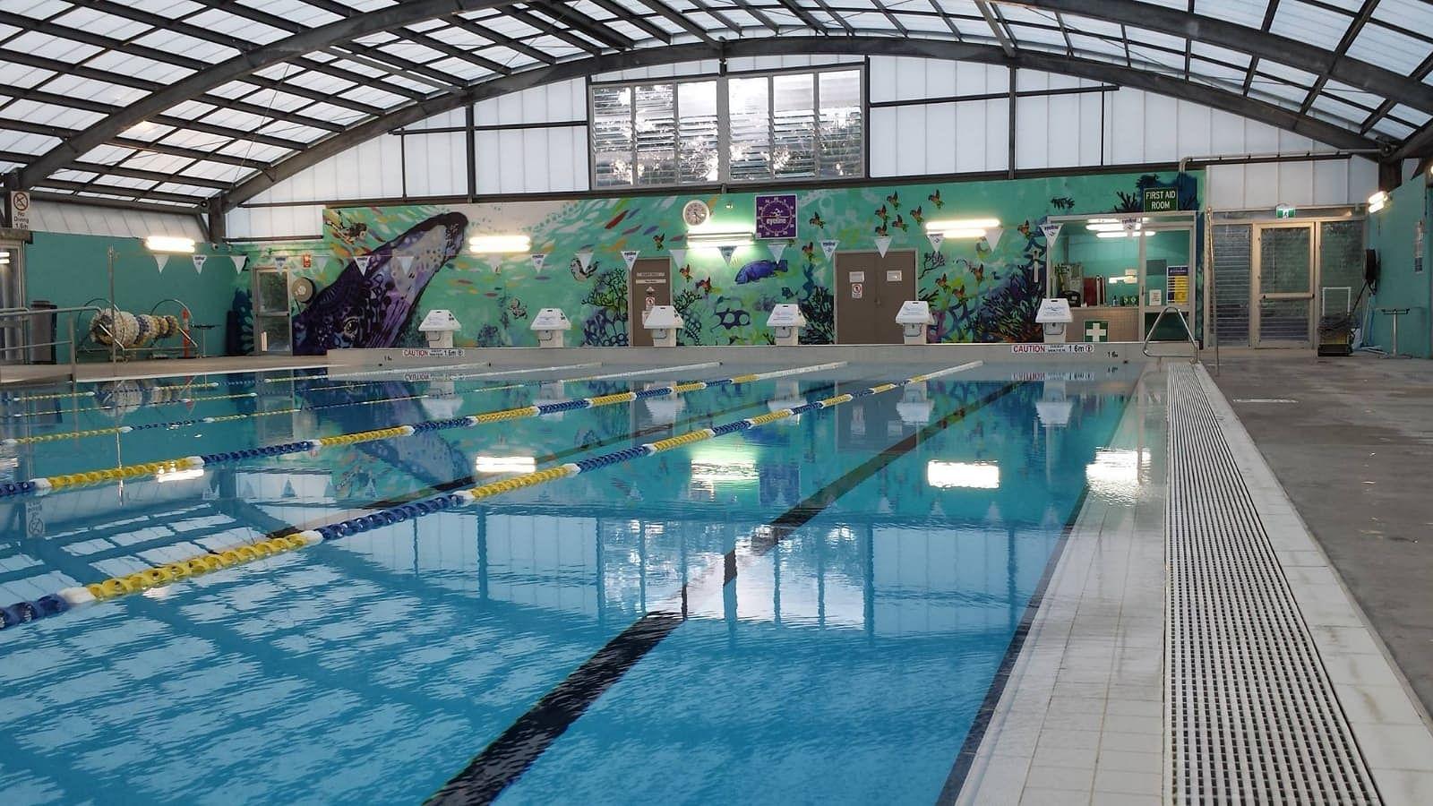Sapphire Aquatic Centre pool.