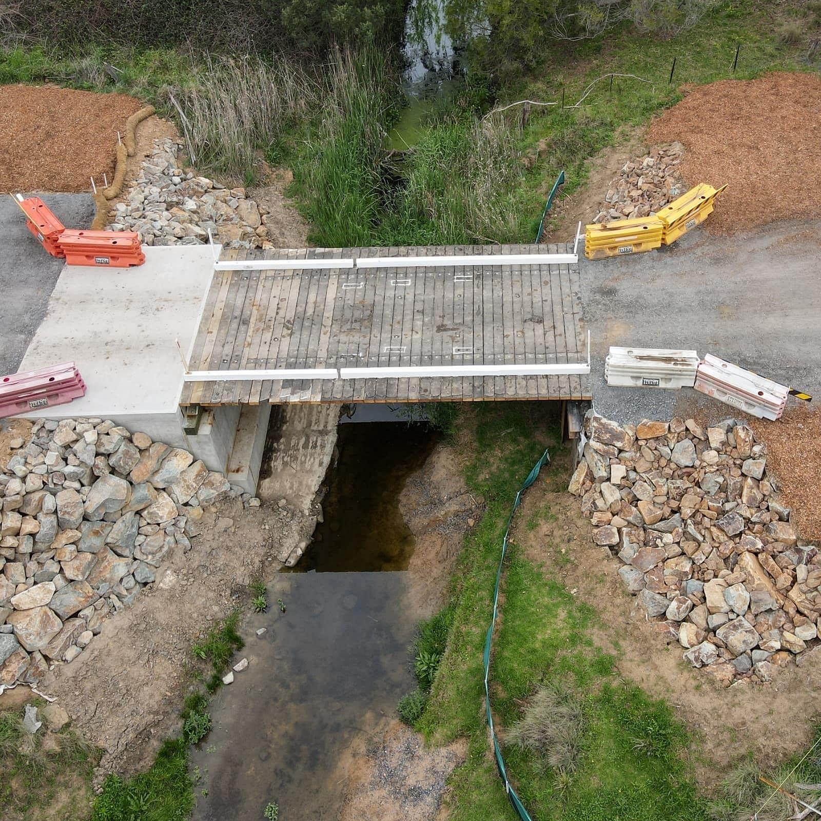 Slaters Lane bridge reopened