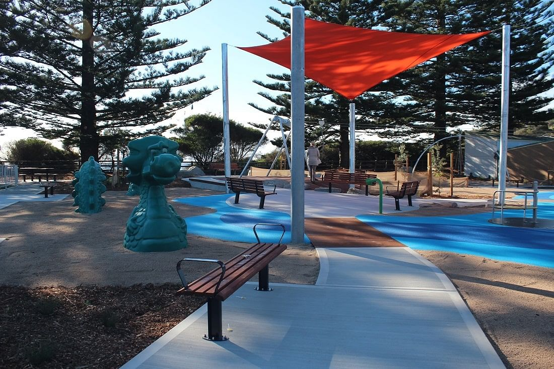 The much-loved Tathra inclusive playspace